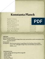 Konstanta Planck