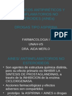 Analgésicos Antipiréticos y Antiinflamatorios No