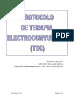 Protocolo de Terapia Electroconvulsiva