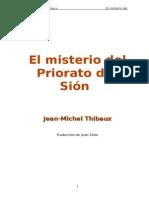 21362705 El Misterio Del Priorato de Sion de Jean Michel Thibaux