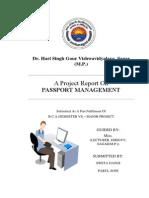 Passport Management System