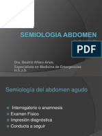 Semiologc3ada Del Abdomen Agudo