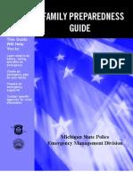 Family Preparedness - MI State Police Info