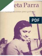 Violeta Parra - Composiciones para guitarra
