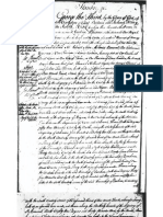 Stanbridge 1801 Land Grant