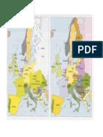 Europa - Antes y Despues