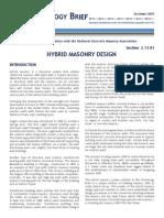 Hybrid Masonry Design 2.13.01_12.29.09