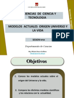 Clase Nº4-Modelos Actuales Origen Universo-Vida
