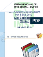 NORMA Oficial Mexicana NOM 004 SSA3 2012