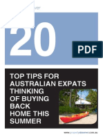 20 Tips for Expat Buyers of Australian Property