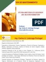 2014-1 Mante Fundamentos Del Mantenimiento