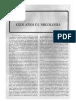 100 Años de Psicología (1979a)