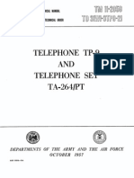 TM 11-2059 (TP-9 and TA 264-PT Field Telephones)
