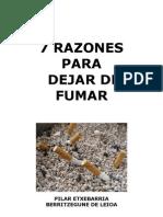 7 Razones Para Dejar de Fumar