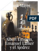 ALBERT EINSTEIN, EMANUEL LASKER Y EL AJEDREZ_por Frank Mayer