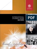 Uppsala Universitet - International Student Guide
