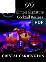 99 Cocktail Recipes