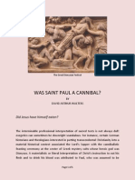 Was St. Paul a Cannibal? by David Arthur Walters