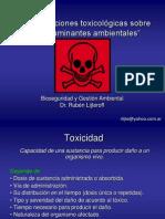 Clase 8 Toxicologia Clase