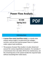 Power Flow Analysis