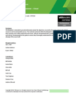 VCP Cloud Exam Blueprint