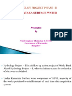 Water Resources Planning in HP-1 Karnataka Surface Water