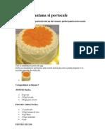 Tort Cu Smantana Si Portocale
