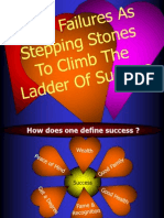 Failures Stepping Stones