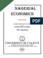 ManagerialEconomics
