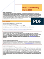 Music Mark Newsletter March 2013