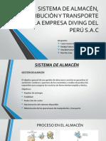 Sistema de Almacén, Distribución y Transporte De