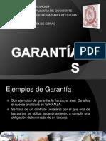 Garantias- Supervision de Obras