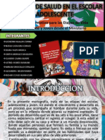 Estrategia Sanitaria Nacional Del Escolar y Adolescente ...