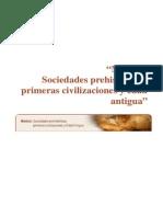 Modulo Sociedades Prehistoricas