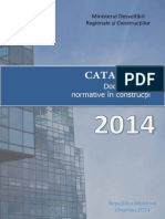 Catalog Documente Normative in Constructii - 2014