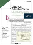 [MWRF0204] Balanced LNA Suits Cellular Base Stations