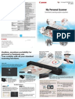 Canon Scanner P-201