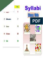 Syllabus X Title