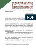 Encontro Historia Oral Sul - hermenêutica de Paul Ricoeur e identidades Culturais