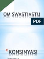 AKL KONSINYASI