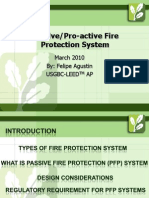 Pro Active Fire Protection System