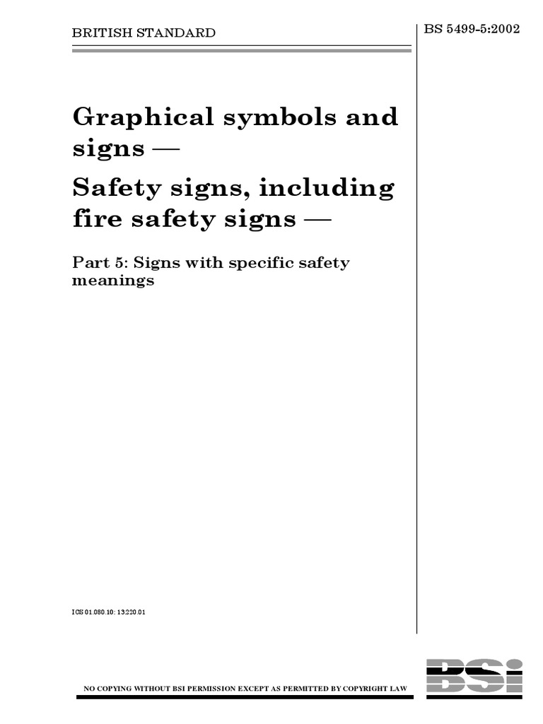 Graphical symbols and signs pdf   Dangerous Goods   Fire Safety