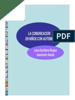 Comunicación en Niños Con Autismo