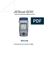 Manual BERcut SDH