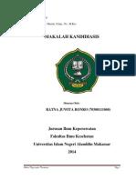 Kandidiasis by Ratna Juwiita Bonro 70300111068