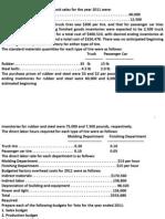 Soal Budgeting