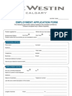Westincalgary Applications