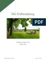 Die Erdbestattung in Deutschland