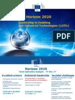 3) H2020 LEIT Biotechnology_LŽ