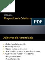 Cristiana. Mayordomia
